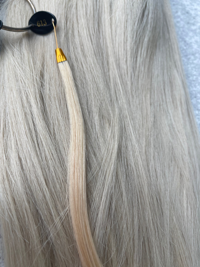 silk or lace - blonde wig for sale