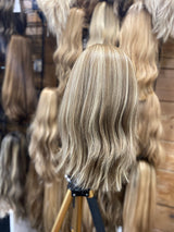 Brand New Human Hair Kosher Wig Sheitel 16 Light Brown With
