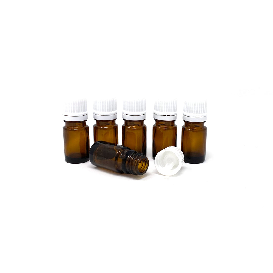5 ml glass bottles