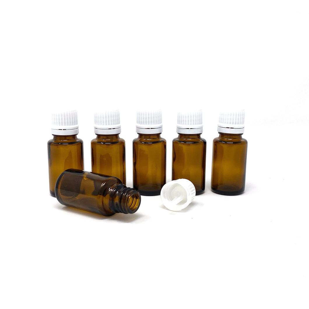 15 ml glass bottles