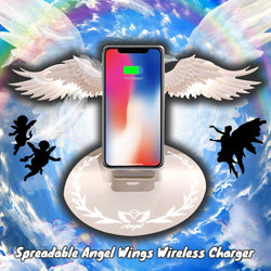 Spreadable Angel Wings Wireless Charger
