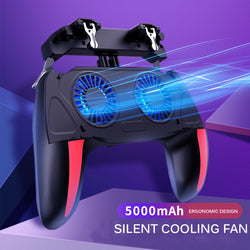 Cooling Gamepad Mobile Game Controller(Power Bank)