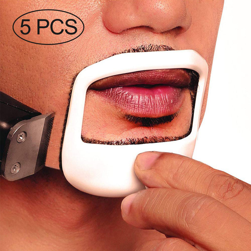 5Pcs/Set Men's Fashion Goatee Care Beard Shaping Tool
