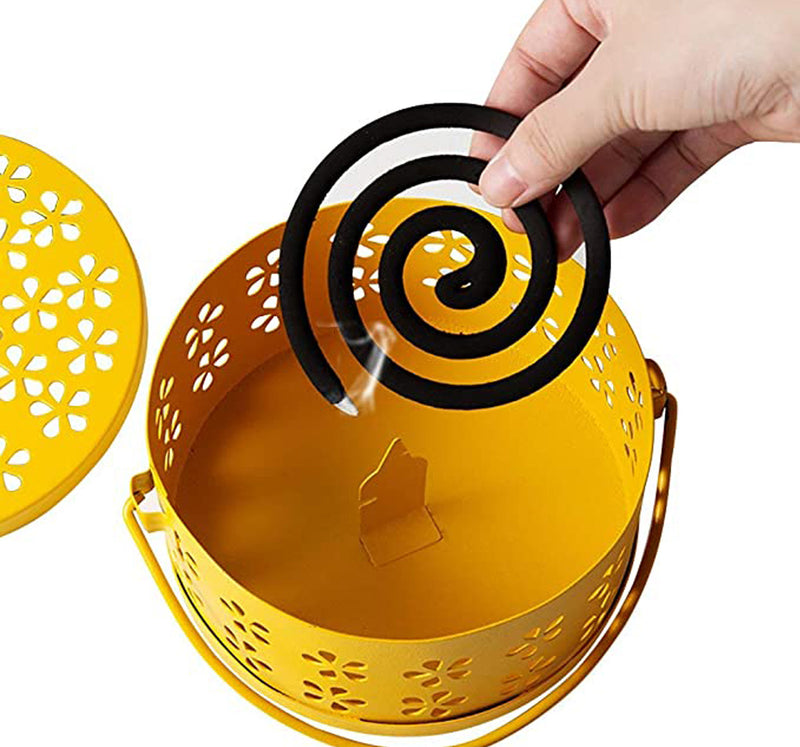Mosquito Coil Holder Portable Mosquito Incense Burner