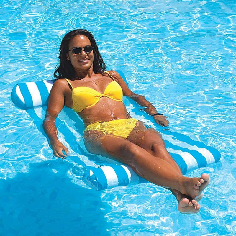 Swimming Pool Floating Water Hammock Lounge Chair