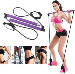 Multi-functional Pilates stick, carry-on gym