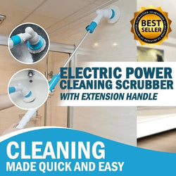 PowerScrubber™ Electric Cleaning With Extension Handle