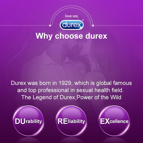 Durex Condom Natural Latex