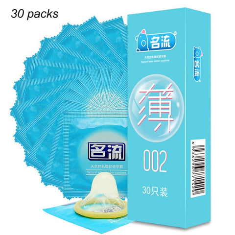 30pcs Ultra Super Thin Condoms