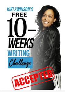 Challenge Yourself- $50-ONE-TIME COST for Kiki's Creative Writing (Journal & weekly Live Q&A's )