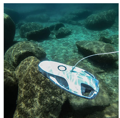 Underwater Drone with 4K UHD Camera, Fish Finder & VR Goggles for Diving and Boating
