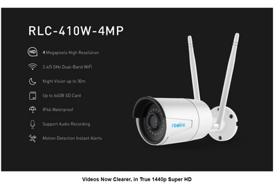 4MP IP WIFI 2.4G/5G Night Vision Camera