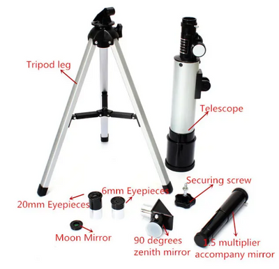 HD Refractive Astronomical Telescope High Magnification Zoom Monocular