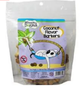 Healthy Dogma - Coconut Barkers Dog Treats