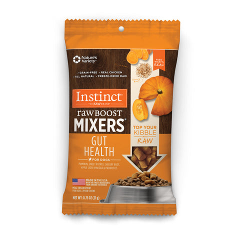 Raw Boost Mixers Dog -- Gut Health