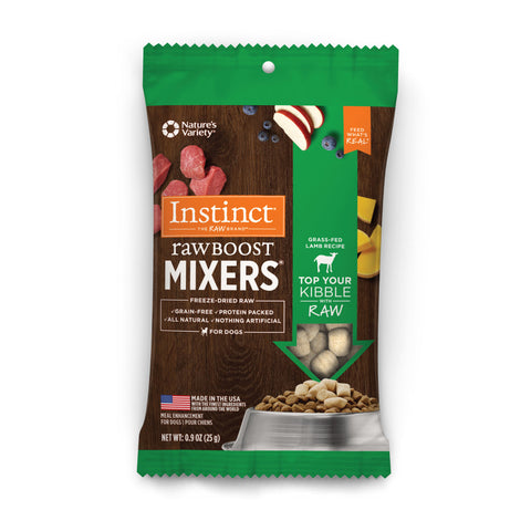 Raw Boost Mixers Dog - Grass-Fed Lamb