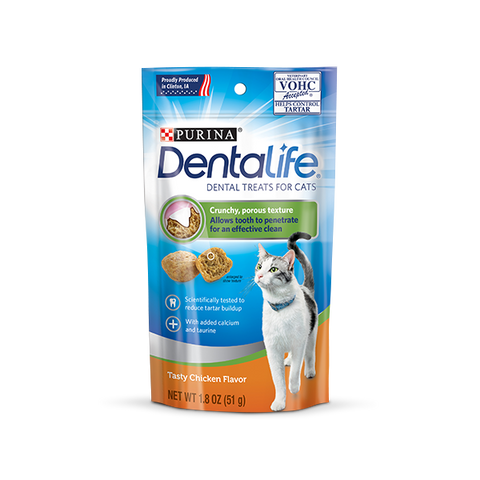 DentaLife Cat Chicken Dental Treats 8.3g
