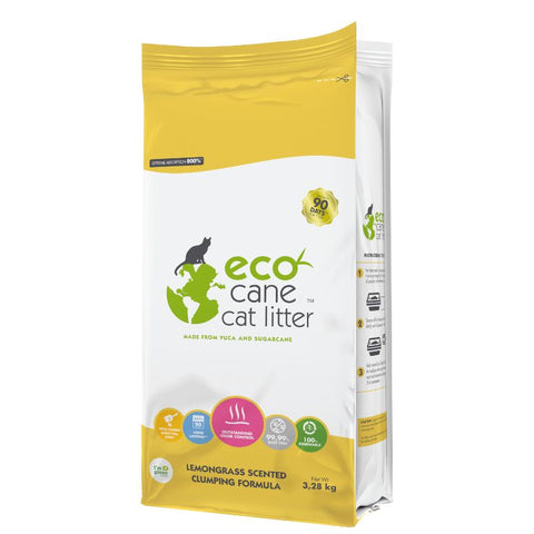 Eco Cane Litter Lemongrass (Full-sized)