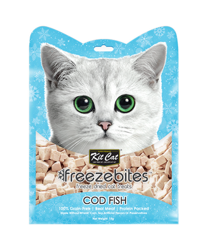 Freeze Bites Cod Fish Freeze Dried Cat Treats