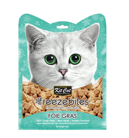 Freeze Bites Foie Gras Freeze Dried Cat Treats