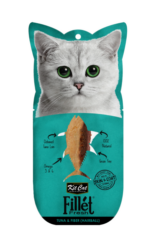 Kit Cat - Fillet Fresh Tuna & Fiber Cat Treat