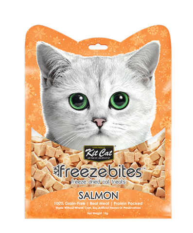 Freeze Bites Salmon Freeze Dried Cat Treats