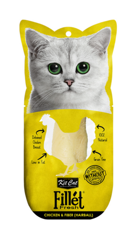 Kit Cat - Fillet Fresh Chicken & Fiber Cat Treat