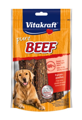 Vitakraft - Beef Tripe Strips Dog Treats