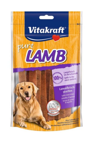 Vitakraft - Pure Lamb Strips Dog Treats