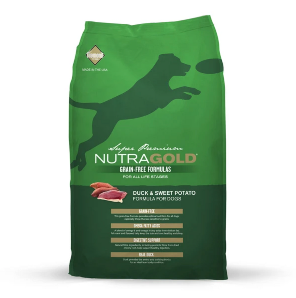 NutraGold Grain Free Dog Food - Duck & Sweet Potato 170g