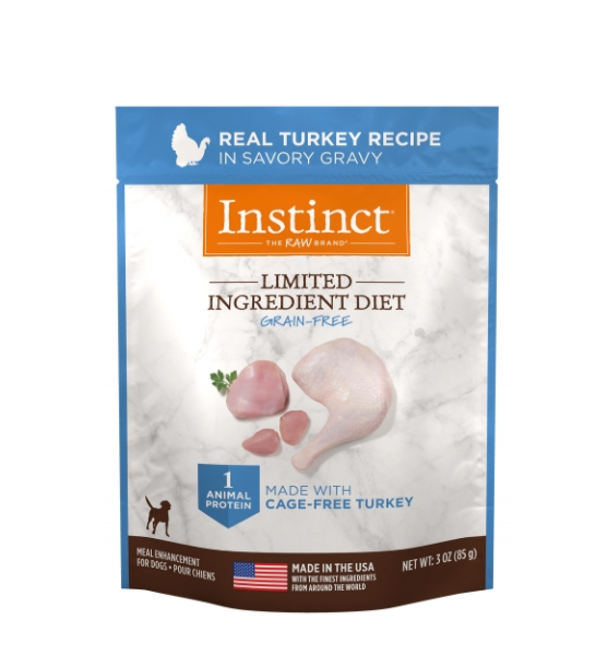Limited Ingredient Grain-Free Turkey Wet Topper