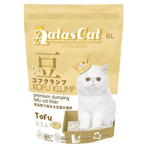 Aatas Cat Kofu Klump Tofu Cat Litter Tofu