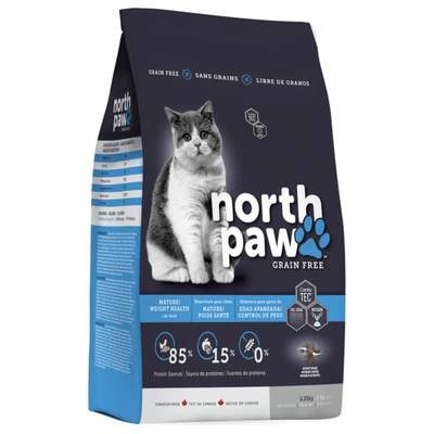 North Paw - Mature Weight Health Grain-Free Cat Kibbles