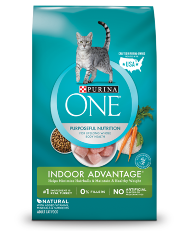 Purina ONE Dry Cat Food - Indoor Advantage