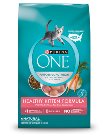 Purina ONE Dry Cat Food - Healthy Kitten
