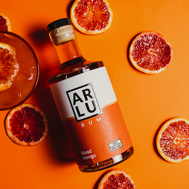 Blood Orange Rum