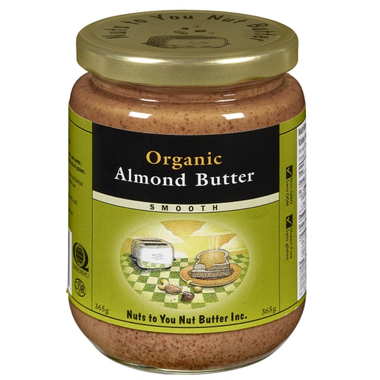 Nuts to You Nut Butter Organic Almond Butter - Smooth