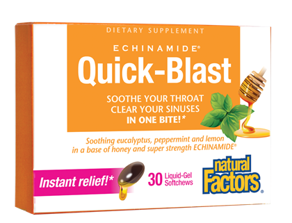 Natural Factors Echinamide Quick Blast