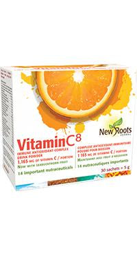 New Roots Vitamin C⁸ 1,165 mg 30 sachets x 5 g