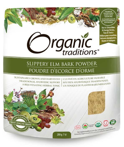 Organic Traditions Slippery Elm Bark Powder