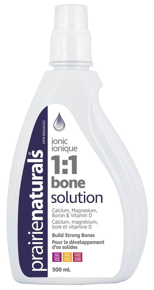 Prairie Naturals Calcium Bone Solution 1:1 Liquid