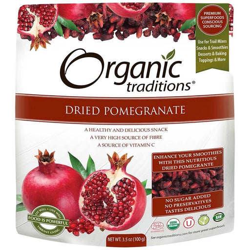 Organic Traditions Dried Pomegranate