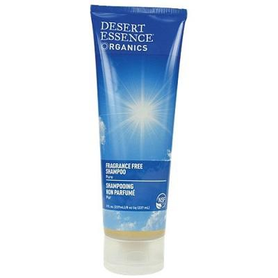 Desert Essence Fragrance Free Shampoo 237 ml