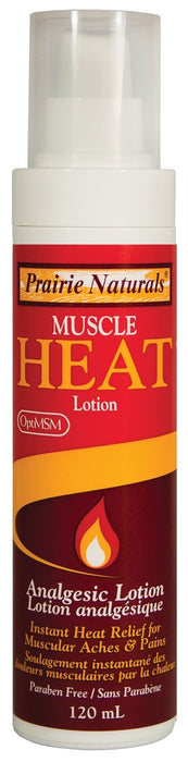 Prairie Naturals Muscle Heat Lotion