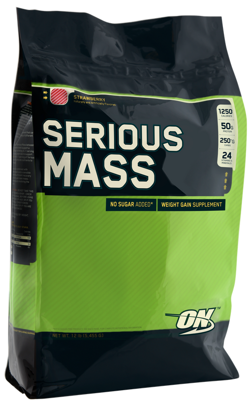 Optimum Nutrition Serious Mass Strawberry