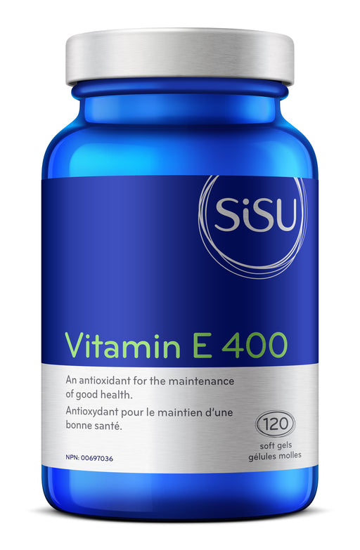 Sisu Vitamin E 400 120 Softgels