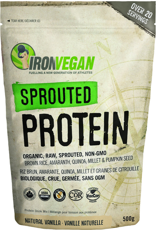 Iron Vegan - Sprouted Protein Natural Vanilla