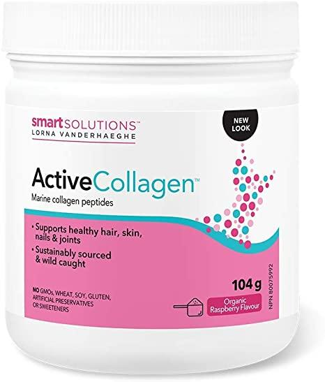Lorna Vanderhaeghe Active Collagen Drink Mix Organic Raspberry Flavour