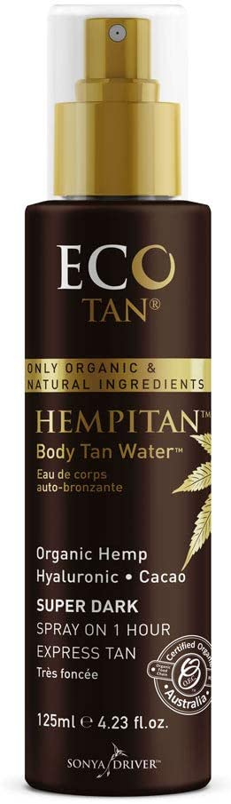 Eco Tan Hempitan Body Tan Water Super Dark 125 mL
