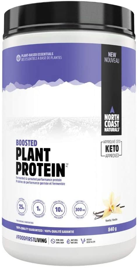 North Coast Naturals Boosted Plant Protein 840 g - Vanilla